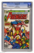 Bronze Age (1970-1979):Superhero, Avengers #148 (Marvel, 1976) CGC NM+ 9.6 White pages. Jack Kirby cover. George Perez and Sam Grainger art. Overstreet 2005 N...