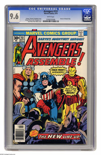 Avengers #151 (Marvel, 1976) CGC NM+ 9.6 White pages. Return of Wonder Man. Jack Kirby and Dan Adkins cover. George Pere...