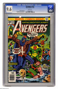 Bronze Age (1970-1979):Superhero, Avengers #152 (Marvel, 1976) CGC NM+ 9.6 White pages. Jack Kirby and Dan Adkins cover. John Buscema and Joe Sinnott art. Ove...