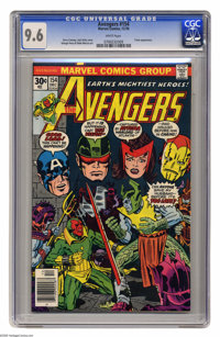 Avengers #154 (Marvel, 1976) CGC NM+ 9.6 White pages. Triton appearance. Gerry Conway and Jack Kirby cover. George Perez...