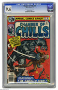 Bronze Age (1970-1979):Horror, Chamber of Chills #23 (Marvel, 1976) CGC NM+ 9.6 Off-white to whitepages. Overstreet 2005 NM- 9.2 value = $18. CGC census 5...