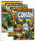 Bronze Age (1970-1979):Miscellaneous, Conan the Barbarian #36-115 Group (Marvel, 1974) Condition: FN+.This group contains issues # 36, 37, 38, 39, 40, 41, 42, 43... (80Comic Books)