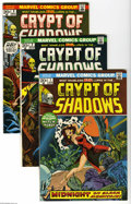 Bronze Age (1970-1979):Horror, Crypt of Shadows #1-14 Group (Marvel, 1973-74) Condition: AverageVF. Fourteen issue lot of horror title includes #1, 2 (Jim... (14Comic Books)