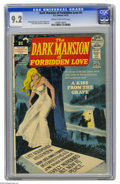 Bronze Age (1970-1979):Horror, Dark Mansion of Forbidden Love #4 (DC, 1972) CGC NM- 9.2 Cream tooff-white pages. Dorothy Manning story, Nick Cardy cover. ...