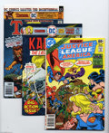 Bronze Age (1970-1979):Miscellaneous, DC Bronze Age Group (DC, 1975-78) Condition: Average NM-. Twelveissue lot features Justice League of America #157; Ka... (12 ComicBooks)