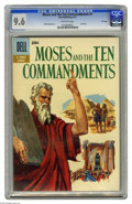 Silver Age (1956-1969):Miscellaneous, Dell Giant Comics Moses and the Ten Commandments #1 File Copy(Dell, 1957) CGC NM+ 9.6 Off-white pages. Mike Sekowsky art. O...
