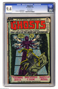 Bronze Age (1970-1979):Horror, Ghosts #3 (DC, 1972) CGC NM 9.4 Off-white pages. Nick Cardy cover.Tony DeZuniga, Jerry Grandenetti, and George Tuska art. T...