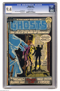 Ghosts #4 (DC, 1972) CGC NM 9.4 Off-white pages. Nick Cardy cover. George Tuska and Jerry Grandenetti art. Overstreet 20...