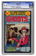 Bronze Age (1970-1979):Horror, Ghosts #6 (DC, 1972) CGC NM 9.4 Off-white pages. Nick Cardy cover.Jack Sparling and Art Saaf art. This is currently the hig...