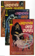 Bronze Age (1970-1979):Horror, Grimm's Ghost Stories #2-4 and 11 Group (Gold Key, 1972-73)Condition: Average VF. Short box lot includes #2 (22 copies), 3 ...