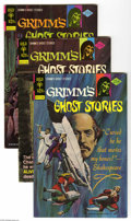 Bronze Age (1970-1979):Horror, Grimm's Ghost Stories #25-30 Group (Gold Key, 1975-76) Condition: Average VF. Short box lot includes #25 (24 copies), 26 (27...