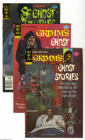 Bronze Age (1970-1979):Horror, Grimm's Ghost Stories Group (Gold Key, 1976-79) Condition: AverageVF/NM. Short box lot includes #31 (25 copies), 32 (25 cop...