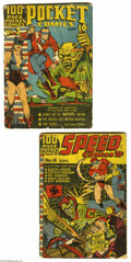 Golden Age (1938-1955):Miscellaneous, Harvey Miscellaneous Comics Golden Age Group (Harvey, 1941). Smallin size, big in adventure, these two Golden Age Harvey bo... (2Comic Books)