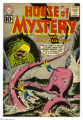 Silver Age (1956-1969):Mystery, House of Mystery #113 (DC, 1961) Condition: VF-. Dick Dillin cover.Mort Meskin, Lee Elias, and Ruben Moreira art. Overstree...