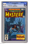Modern Age (1980-Present):Horror, House of Mystery #294 (DC) CGC NM+ 9.6 White pages. Mike Kalutacover. Carmine Infantino and Tom Yeates art. Overstreet 2005...