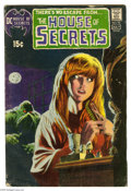 Bronze Age (1970-1979):Horror, House of Secrets #92 (DC, 1971) Condition: GD. First appearance andorigin of Swamp Thing. Bernie Wrightson cover. Bernie Wr...
