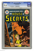 Bronze Age (1970-1979):Horror, House of Secrets #124 (DC) CGC NM+ 9.6 Off-white to white pages.Luis Dominguez cover. Ernie Chan, Jay Albister, and Ryben Y...