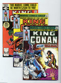 Modern Age (1980-Present):Science Fiction, King Conan #1-19 Group (Marvel, 1980-83) Condition: Average NM.This 19-issue lot represents a complete run of the title. In... (19Comic Books)
