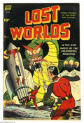 "Golden Age (1938-1955):Science Fiction, Lost Worlds #5 (Standard, 1952) Condition: FN+. Features ""Alice inTerrorland"" story with artwork by Alex Toth. Overstreet 2..."