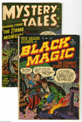 Golden Age (1938-1955):Horror, Miscellaneous Golden Age Horror Group (Various Publishers,1950-52). Terror strikes in this lot of comics from the GoldenAg... (2 Comic Books)