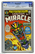 Bronze Age (1970-1979):Superhero, Mister Miracle #1 (DC, 1971) CGC NM- 9.2 White pages. First appearances of Mister Miracle and Oberon. Jack Kirby story, cove...