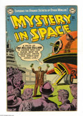 Golden Age (1938-1955):Science Fiction, Mystery in Space #11 (DC, 1953) Condition: VG. Gil Kane cover art.Murphy Anderson, Carmine Infantino, and Bob Oksner interi...