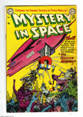 Golden Age (1938-1955):Science Fiction, Mystery in Space #12 (DC, 1953) Condition: VG+. Ruben Moreira coverart. Murphy Anderson and Gil Kane interior art. Overstre...