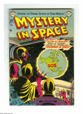 Golden Age (1938-1955):Science Fiction, Mystery in Space #13 (DC, 1953) Condition: VG. Murphy Andersoncover art. Gene Colan, Mort Drucker, and Gil Kane interior ar...