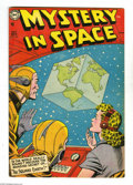 Golden Age (1938-1955):Science Fiction, Mystery in Space #22 (DC, 1954) Condition: VG/FN. Murphy Andersoncover art. Gil Kane and Carmine Infantino interior art. Ov...