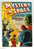Golden Age (1938-1955):Science Fiction, Mystery in Space #23 (DC, 1955) Condition: VG+. Murphy Andersoncover art. Gil Kane and Carmine Infantino interior art. Over...