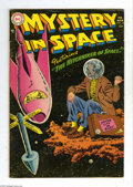 Golden Age (1938-1955):Science Fiction, Mystery in Space #24 (DC, 1955) Condition: VG/FN. Last pre-codeissue. Murphy Anderson cover art. Gil Kane and Carmine Infan...