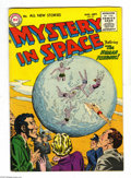 Golden Age (1938-1955):Science Fiction, Mystery in Space #27 (DC, 1955) Condition: FN. Rueben Moreira coverart. Carmine Infantino, Gil Kane, and Joe Giella. Overst...
