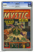 Golden Age (1938-1955):Horror, Mystic #11 (Atlas, 1952) CGC VF 8.0 Cream to off-white pages. MyronFass and John Romita Sr. art. Overstreet 2005 VF 8.0 val...