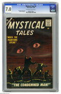 Golden Age (1938-1955):Horror, Mystical Tales #4 (Atlas, 1956) CGC FN/VF 7.0 Off-white to whitepages. Bill Everett, Bob Powell, and Reed Crandall art. Ove...