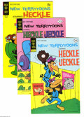 Bronze Age (1970-1979):Cartoon Character, New Terrytoons Group (Gold Key, 1963-76) Condition: Average VF-. This short box lot includes #2 (10 copies), 11 (22 copies),...