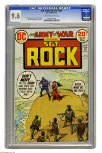 Our Army at War #260 (DC, 1973) CGC NM+ 9.6 Off-white to white pages. Sgt. Rock and Easy Co. story. Joe Kubert cover. Ru...