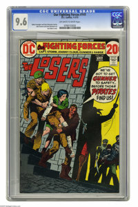 Our Fighting Forces #141 (DC, 1973) CGC NM+ 9.6 Off-white to white pages. Featuring the Losers. Joe Kubert cover. John S...