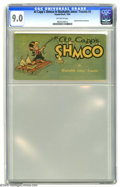 Golden Age (1938-1955):Cartoon Character, Oxydol-Dreft #3 Al Capp's Shmoo in Washable Jones' Travels (TobyPublishing, 1950) CGC VF/NM 9.0 Off-white pages. Promotiona...