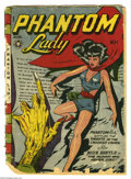 Phantom Lady #13 (Fox Features Syndicate, 1947) Condition: FR. Matt Baker's lovely crime-fighter adequately covers this...