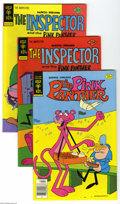 Bronze Age (1970-1979):Cartoon Character, Pink Panther Group (Whitman, 1975-78) Condition: Average VF. Shortbox lot includes Pink Panther #24 (35 copies), 26 (22...