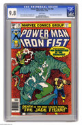 Modern Age (1980-Present):Superhero, Power Man and Iron Fist #66 (Marvel, 1980) CGC NM/MT 9.8 Whitepages. Second appearance of Sabretooth. Frank Miller cover. K...