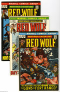 Bronze Age (1970-1979):Western, Red Wolf #1-8 Group (Marvel, 1972-72) Condition: Average VF+. Eight-issue lot includes #1, 2, 3, 4, 5, 6, 7, and 8. Each has... (8 Comic Books)