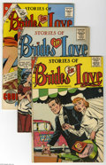 Silver Age (1956-1969):Romance, Brides in Love Group (Charlton, 1956-61) Condition: Average FN/VF.This 16-issue lot of romance books includes Brides in L... (16Comic Books)