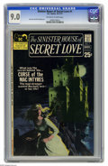 Bronze Age (1970-1979):Romance, Sinister House of Secret Love #1 (DC, 1971) CGC VF/NM 9.0 Off-whiteto white pages. Don Heck and Dick Giordano art. Overstre...