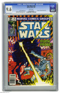 Modern Age (1980-Present):Science Fiction, Star Wars #45 (Marvel, 1981) CGC NM+ 9.6 White pages. Larry Hamaand Al Milgrom cover. Carmine Infantino and Chic Stone art....