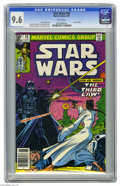 Modern Age (1980-Present):Science Fiction, Star Wars #48 (Marvel, 1981) CGC NM+ 9.6 White. Princess Leia facesDarth Vader. Carmine Infantino cover and art. Overstreet...