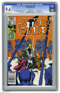 Modern Age (1980-Present):Science Fiction, Star Wars #60 (Marvel, 1982) CGC NM+ 9.6 White pages. Origin ofShira Brie. Walter Simonson cover and art. Overstreet 2005 N...