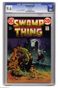 Bronze Age (1970-1979):Horror, Swamp Thing #4 (DC, 1973) CGC NM+ 9.6 White pages. Bernie Wrightsoncover and art. This is currently the highest grade award...