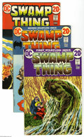Bronze Age (1970-1979):Horror, Swamp Thing #1-13 Group (DC, 1972-74) Condition: Average FN.Thirteen-issue lot includes #1, 2, 3 (first full appearance of ...(13 Comic Books)