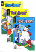 Bronze Age (1970-1979):Cartoon Character, Tom and Jerry Group (Gold Key, 1971-81) Condition: Average VF.Short box lot includes #259 (14 copies), 305 (17 copies) 308 ...